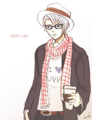 HipsterLyonFanart