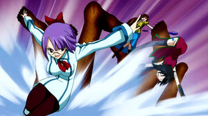 Laki vs. Fairy Tail Mages