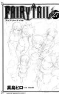 Fairy Tail Band 27 Cover unter Schutzumschlag