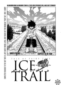Fairy Tail Ice Trail Cover 9