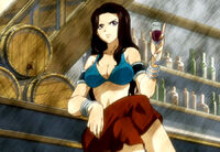 Cana first anime