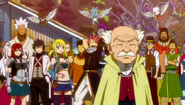 Fairy Tail's farewell to the legionnaires