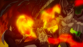 The double Iron Fist of Fire Dragon