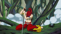 Erza recovers