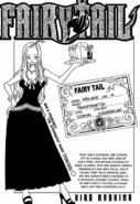 Mirajane's Guild Card
