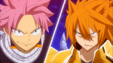 Natsu Enfrenta a Leo