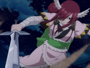 Erza's Wind God Armor