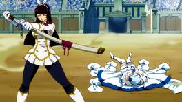 Kagura derrota a Yukino