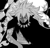 Human Acnologia's upper body
