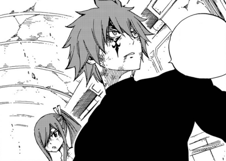 Jellal volunteers to buy some time