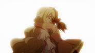 Zera hugs Mavis