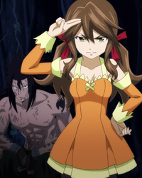 Zera contacts memebers of Fairy Tail