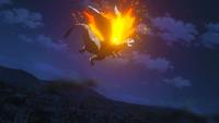 Motherglare attacked by Natsu
