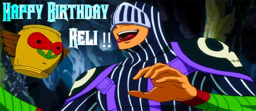 Reli Birthday Art