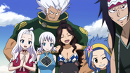 Everyone smiling at Makarov
