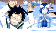 Juvia in tears over Gray's return