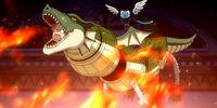 Natsu as a bad dragon