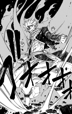 Natsu in Fire Dragon King Mode