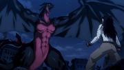 Gajeel vs. Dragón Oscuro