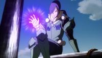 Neinhart blasts Jellal and Kagura away