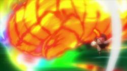 El ataque final de Natsu