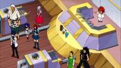 Team Fairy Tail and Ichiya aboard Christina