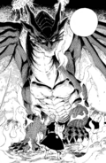 The image of Igneel reveals the truth to Natsu