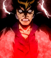 Laxus at his breaking point