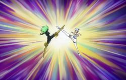 Libra y Yukino Continúan Luchando