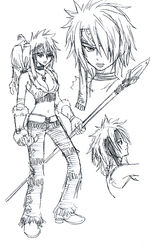 Erza Early Concept