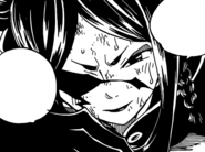 Minerva looks at the battle of Erza