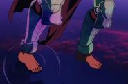 Swan's Stellanium Leg Gauntlets