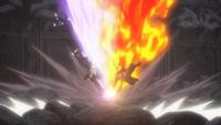 Puño del Demonio de Hielo y del Dragón de Fuego
