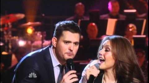 Michael Buble ft Thalia - Feliz Navidad (Christmas Special)