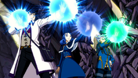 Team Gray using Magic
