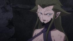 Kyouka Dispuesta a Derrotar a Erza