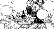 Trying to stop Natsu
