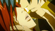 Jellal and Erza nearly kiss