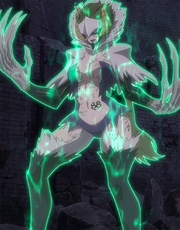 Kyôka in her Etherious Form