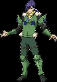 Neinhart's appearance anime