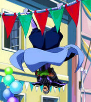 Bickslow acrobatic skills