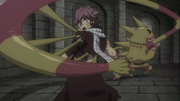 Franmalth toma a Natsu
