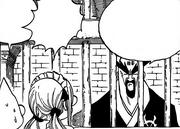 Goumon habla con los presos