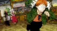 Loke corre ao descobrir que Lucy é uma Maga Celestial