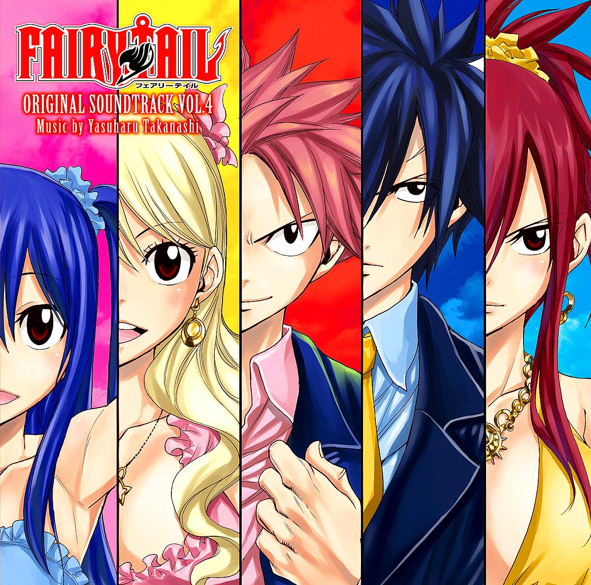 fairy tail original soundtrack vol 4