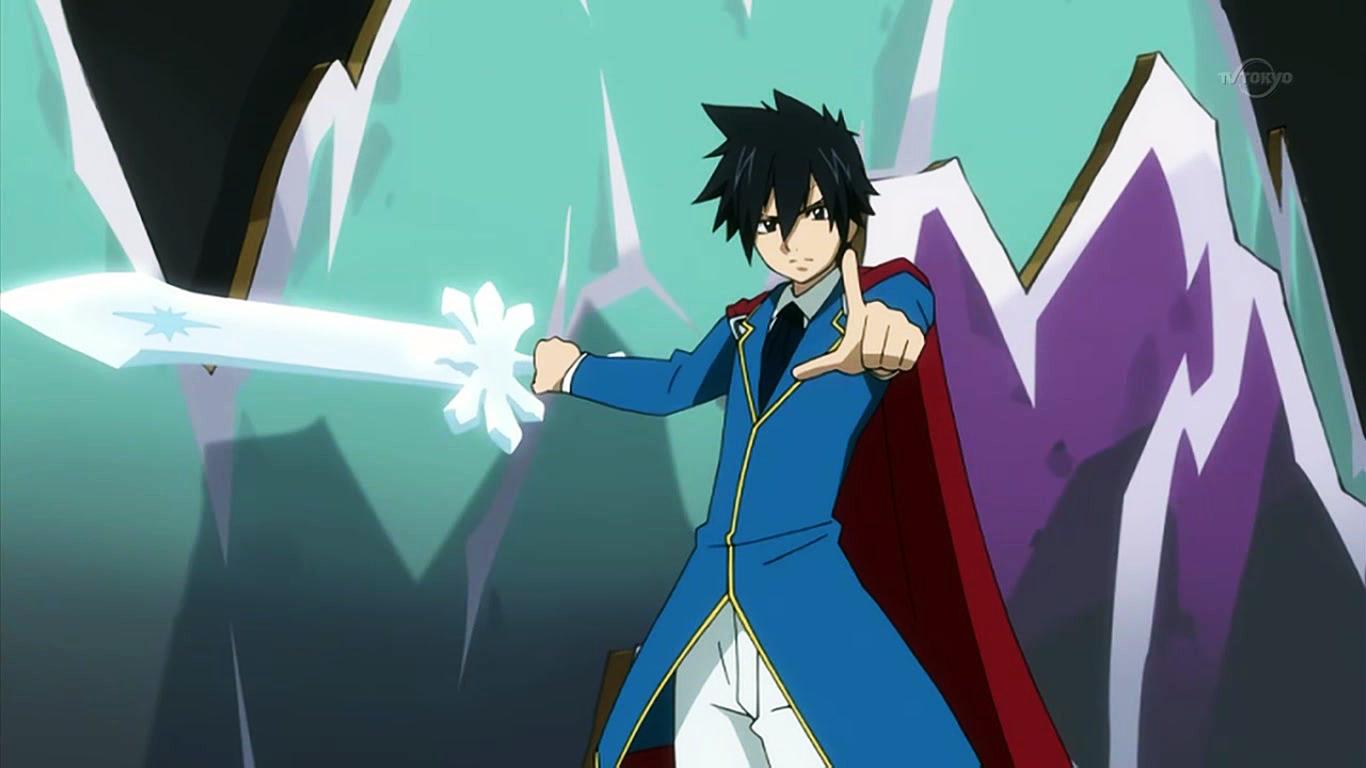Ice Make Sword Fairy Tail Wiki Fandom