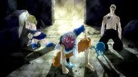 Team Natsu going to combat