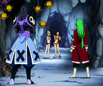 Freed y Bickslow vs Lucy y Cana
