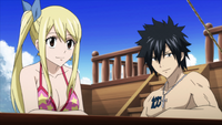Lucy and Gray discuss the situation