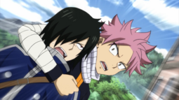 Natsu se Lleva a Rogue